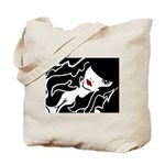 Ruby Lips Tote Bag