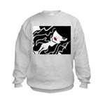 Ruby Lips Kids Sweatshirt