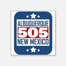 505 Albuquerque NM Area Code Sticker