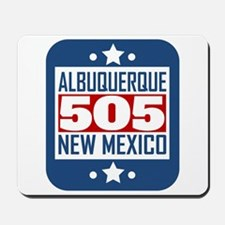 505 Albuquerque NM Area Code Mousepad