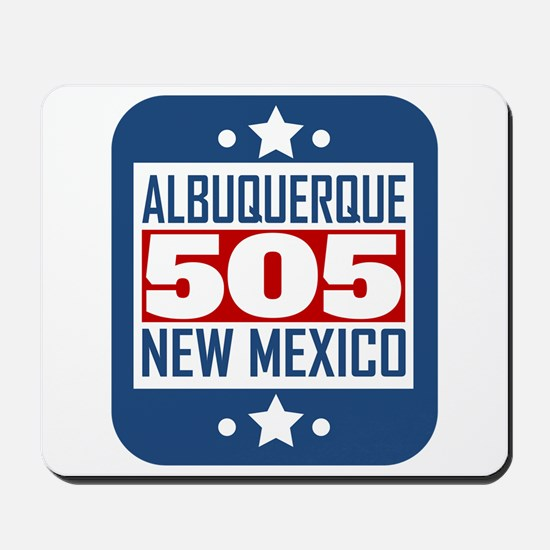 505 Albuquerque NM Area Code Mousepad