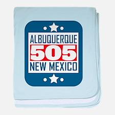 505 Albuquerque NM Area Code baby blanket