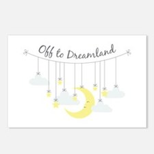 To Dreamland Postcards (Package of 8)
