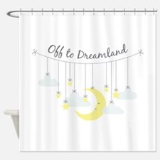 To Dreamland Shower Curtain