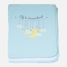 To Dreamland baby blanket