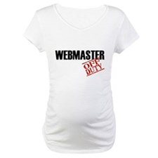 Off Duty Webmaster Shirt