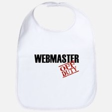 Off Duty Webmaster Bib