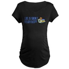 Life is Short, Read Fast T-Shirt