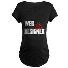 Off Duty Web Designer T-Shirt