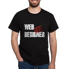 Off Duty Web Designer T-Shirt