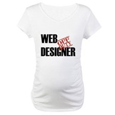Off Duty Web Designer Shirt