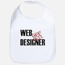 Off Duty Web Designer Bib