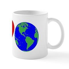 I Love Earth (design) Mug