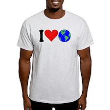 I Love Earth (design) T-Shirt