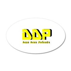 Dave Does Podcasts Wall Decal