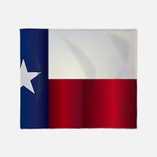 Graphic texas flag Throw Blanket