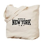 Born In New York Tote Bag