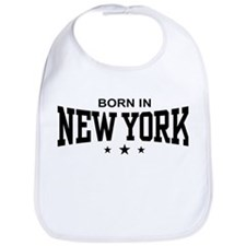 Born In New York Bib