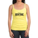 Born In New York Jr. Spaghetti Tank