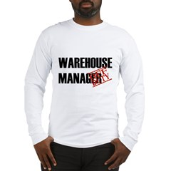 Off Duty Warehouse Manager Long Sleeve T-Shirt