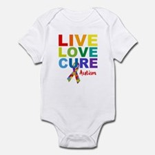 Live Love Cure AUT Infant Bodysuit