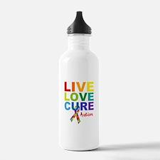Live Love Cure AUT Water Bottle
