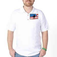 Bagpiper In America T-Shirt