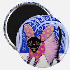 Black Sugar Plum Fairy CAT Magnet