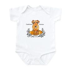 Lakeland Terrier Dog Banner Infant Bodysuit