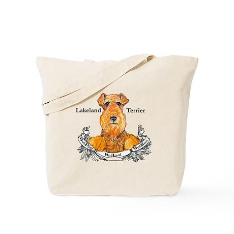 Lakeland Terrier Dog Banner Tote Bag