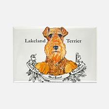 Lakeland Terrier Dog Banner Rectangle Magnet (10 p
