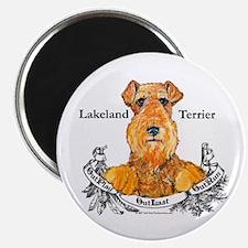 Lakeland Terrier Dog Banner Magnet