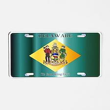 Unique Delaware Aluminum License Plate