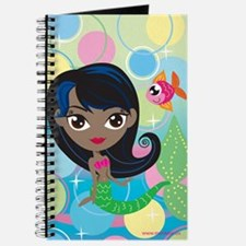 Dark Skinned Mermaid Journal