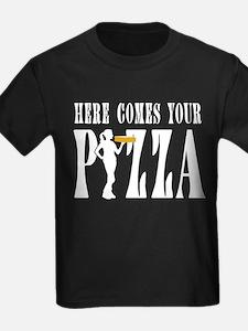 Supplier pizza service woman T-Shirt