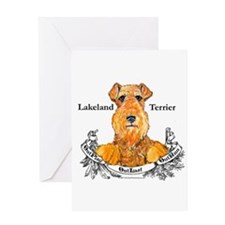 Lakeland Terrier Dog Banner Greeting Card