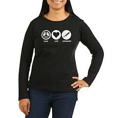 Peace Love Contrabassoon T-Shirt