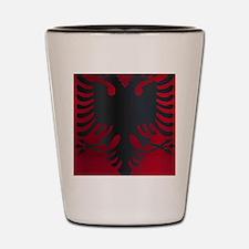 Cute Albania Shot Glass