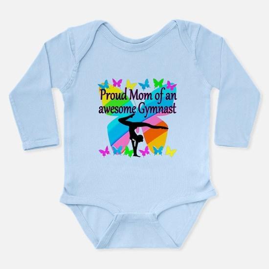 GYMNAST MOM Long Sleeve Infant Bodysuit