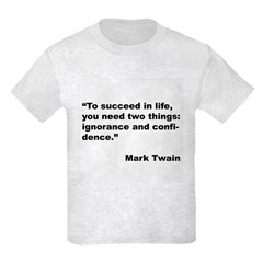 Mark Twain Quote on Success T-Shirt