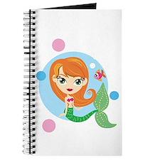 Simple Redheaded Mermaid Journal