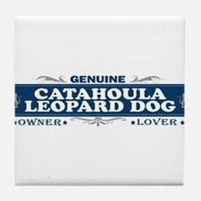 CATAHOULA LEOPARD DOG Tile Coaster