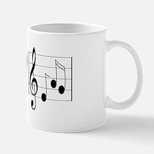 I Love Music (design) Mug
