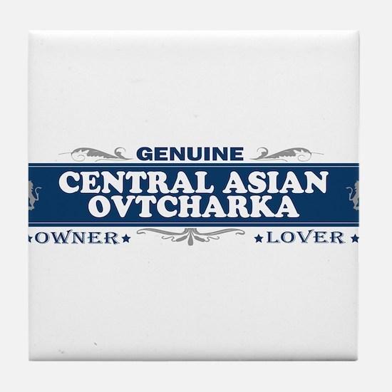 CENTRAL ASIAN OVTCHARKA Tile Coaster