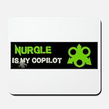 Nurgle Is My Copilot Mousepad