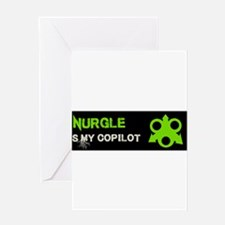 Nurgle Is My Copilot Greeting Cards