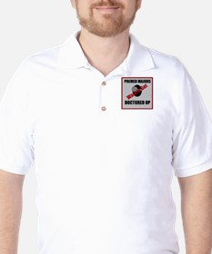 Pre-Med Majors Want to Get Doctored Up Golf Shirt
