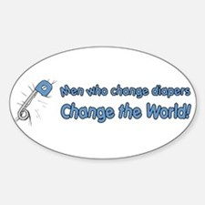 Change Diapers, Change The World Decal