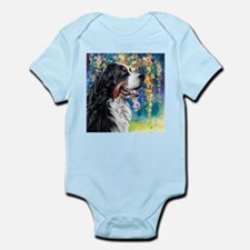 Bernese Mountain Dog Painting Body Suit