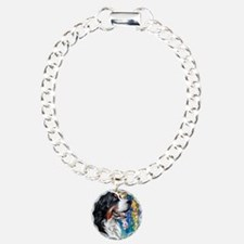 Bernese Mountain Dog Painting Bracelet